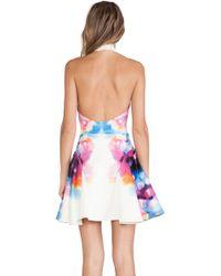 Ringuet - Printed Crepe Dress  - Lyst