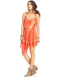 Free People Aphrodite Tiedye Dress - Lyst