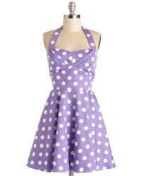 Ixia Traveling Cupcake Truck Dress In Violet purple - Lyst