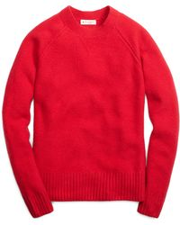 Brooks Brothers Red Cashmere Sweater - Lyst