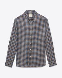 Billy Reid Tuscumbia Shirt blue - Lyst