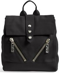 Kenzo 'Kalifornia' Leather Backpack - Lyst