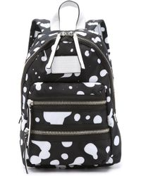 Marc By Marc Jacobs - Domo Arigato Mini Packrat Backpack - Black Multi - Lyst