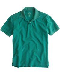 J.Crew Classic Piqué Polo Shirt - Lyst