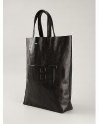 WOOD WOOD - 'Ntbt' Tote Bag - Lyst