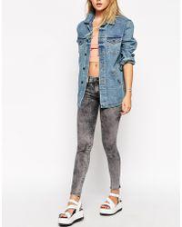 Wildfox Cosmic Marianne Midrise Skinny Jeans - Lyst
