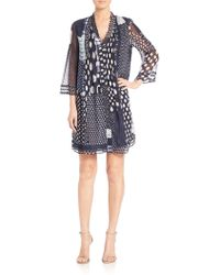 Diane von Furstenberg | Layla Printed Silk Dress | Lyst