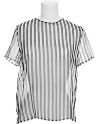 Anthony Vaccarello Top - Lyst