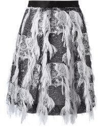 Prabal Gurung Embellished Skirt - Lyst