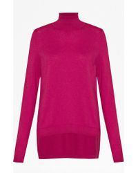 French connection Bambino Knitted Roll Neck Jumper - Lyst