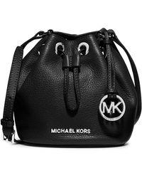 MICHAEL Michael Kors - Jules Leather Drawstring Crossbody Bag - Lyst