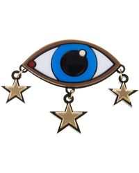 Yazbukey - Eye and Stars Brooch - Lyst