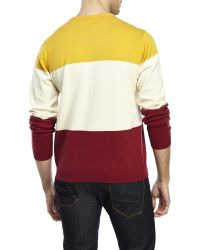 Supremebeing - Lore Color Block Sweater - Lyst