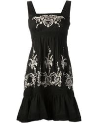 Alice By Temperley Mini Myra Dress - Lyst