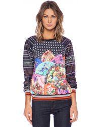 Clover Canyon Dancing Fans Sweatshirt - Lyst