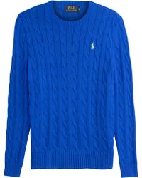 Polo Ralph Lauren Cable Knit Pullover - Lyst