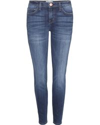 Current/Elliott The Stiletto Skinny Mid-Rise Jeans - Lyst