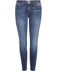 Current/Elliott The Stiletto Skinny Mid-Rise Jeans - Lyst