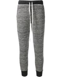 Splendid Ribbed Track Pants - Lyst
