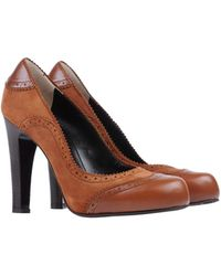 D&G Brown Pump - Lyst