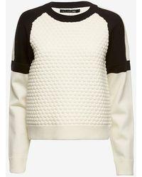 Rag & Bone Kelsie Knit Pullover - Lyst