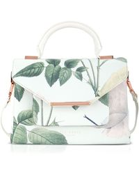 Ted Baker Satchel - Domina Distinguishing Rose - Lyst