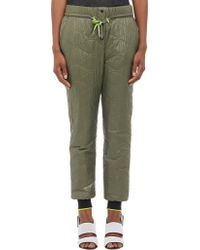 T By Alexander Wang Quilted Tech Track Pants - Lyst