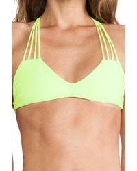 Mikoh Swimwear Banyans Multi Skinny String Bikini Top - Lyst