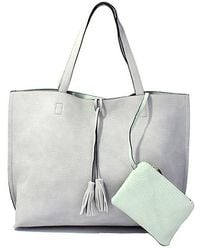 Bungalow 20 - Reversible Leather Tote - Lyst
