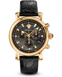 Versace Day Glam Chronograph Watch, 38Mm - Lyst
