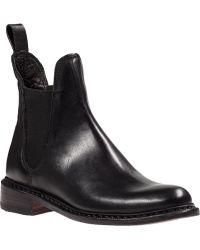 Rag & Bone Dartford Chelsea Boot Black Leather - Lyst