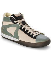 Alexander McQueen x Puma Climb Mid-Top Sneakers green - Lyst