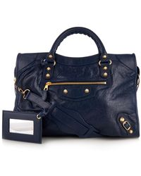 Balenciaga Giant City Leather Tote - Lyst