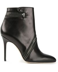 Brian Atwood Nebula Ankle Boots - Lyst