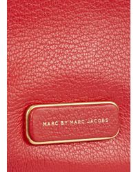 Marc By Marc Jacobs - Sally Red Leather Cross-Body Bag - Lyst
