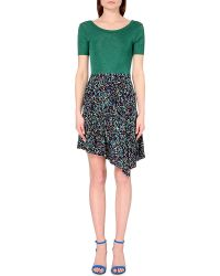 Sandro Abstract-Print Dress - For Women - Lyst