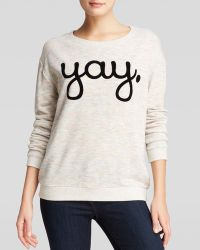 Mink Pink Sweatshirt - Yay - Lyst