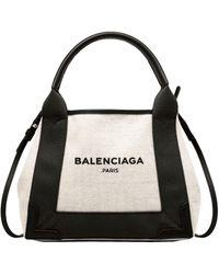 Balenciaga | Navy Cabas Xs | Lyst