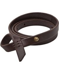 Johnny Farah - Leather Uno Belt - Lyst