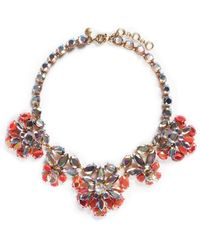 J.Crew | Rainbow Crystal Necklace | Lyst
