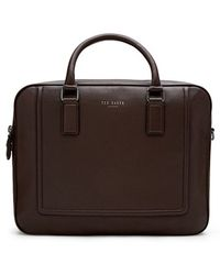 Ted Baker - 'ragna' Leather Bowler Bag - Lyst