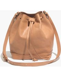 Madewell The Mini Lafayette Bucket Bag - Lyst