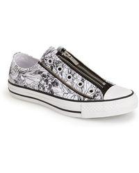 Converse Chuck Taylor All Star Tri Zip Slip-On Sneaker - Lyst
