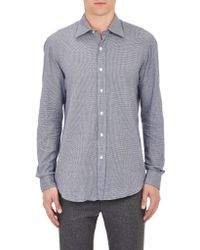 Salvatore Piccolo Micro Houndstooth Shirt - Lyst