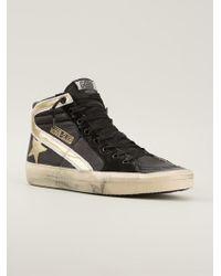 Golden Goose Deluxe Brand Slide Hi-top Sneakers - Lyst