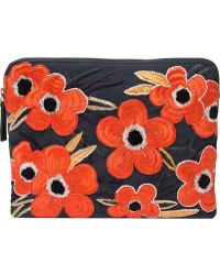 Lizzie Fortunato Jewels Mandrinette Flower Clutch - Lyst