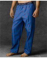 Ralph Lauren - Polo Mens Polo Player Pajama Pants - Lyst