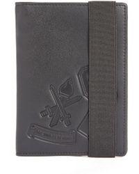 Opening Ceremony - 'varsity' Logo Embossed Leather Passport Holder - Lyst