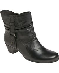 Cobb Hill - Alexandra Leather Boots - Lyst