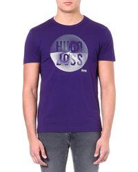 Hugo Boss Circle Logo T-shirt - For Men - Lyst